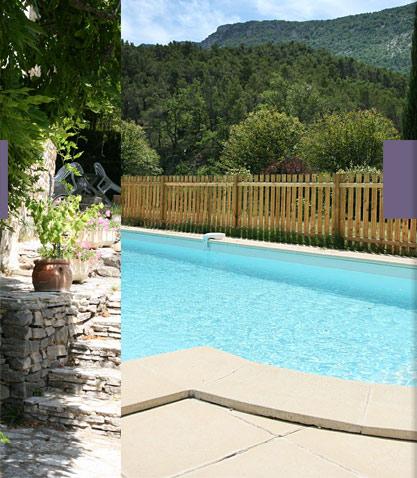 Le mas des termes gite et location en drome provencale for Gite drome piscine